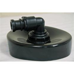 Exhaust Duct Cap Adapter 10""
